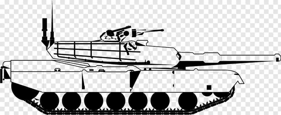 M1 Abrams Main battle tank, Public Domain s free png.