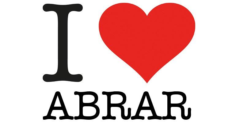 I Love Abrar.