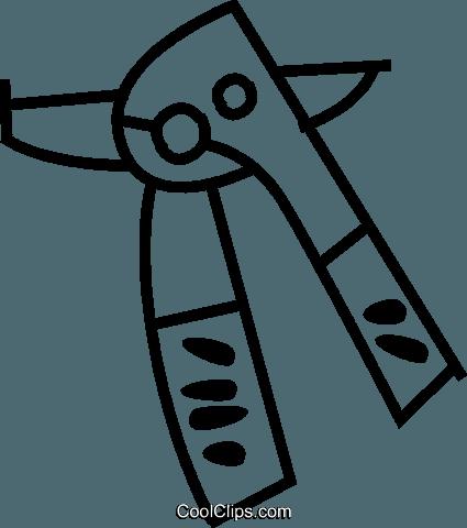 Abrelatas libres de derechos ilustraciones de vectores.