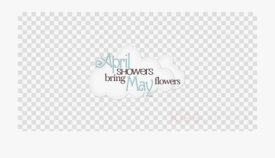 May Flowers Clipart April.
