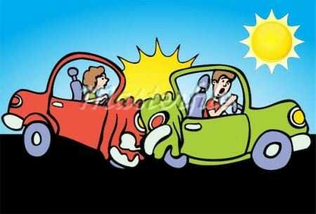 car crash clip art.