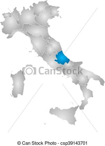 Vector Clipart of Map.