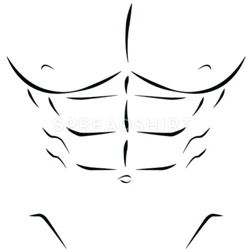 6 pack abs clipart 4 » Clipart Portal.
