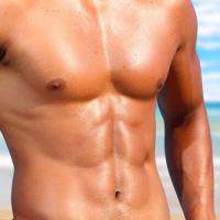 muscular.