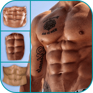 Six Pack Abs Photo Editor for Android.
