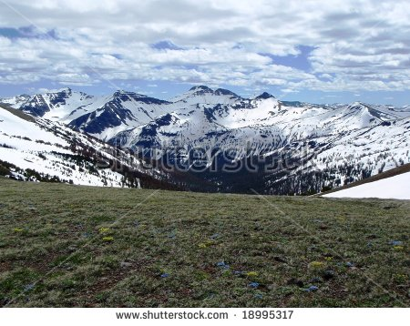 Absaroka Mountains Stock Photos, Royalty.