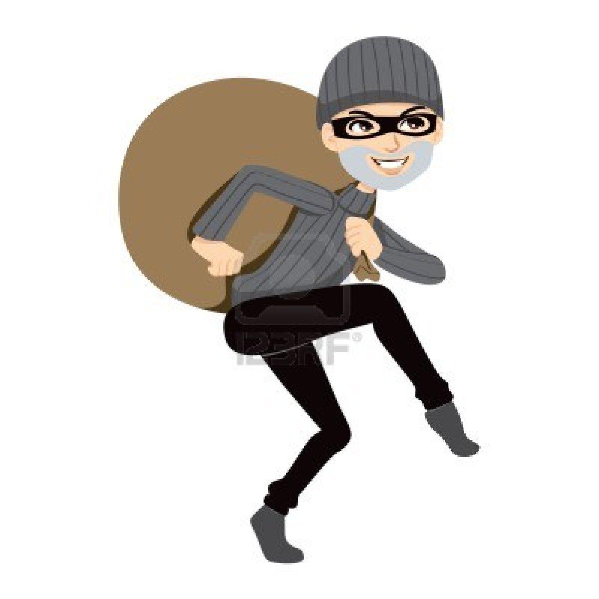 Girl Robber Clipart.