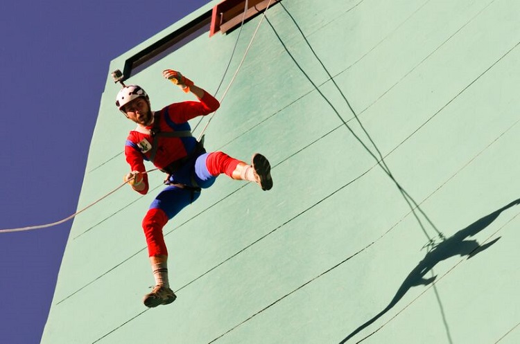 Urban Rush: Abseiling And Rap Jumping In La Paz.