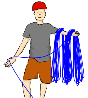 How To Abseil (Rappel).