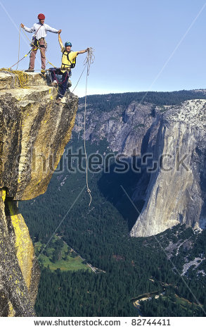 Rock Climbing Team Stock Photos, Royalty.