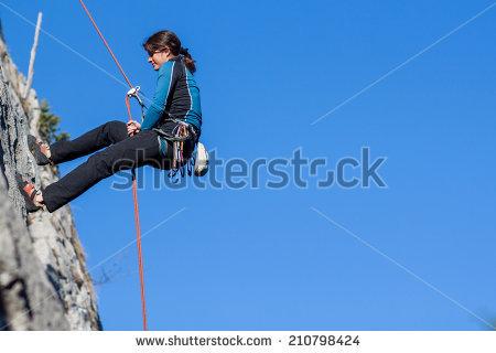 """""""woman Climber"""" Stock Photos, Royalty."""