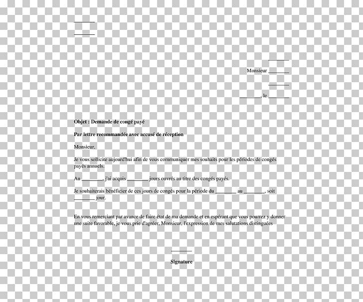 Cover letter Information Thesis Leave of absence, demande en.