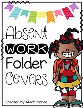 Absent Work Folder Cover Worksheets & Teaching Resources.
