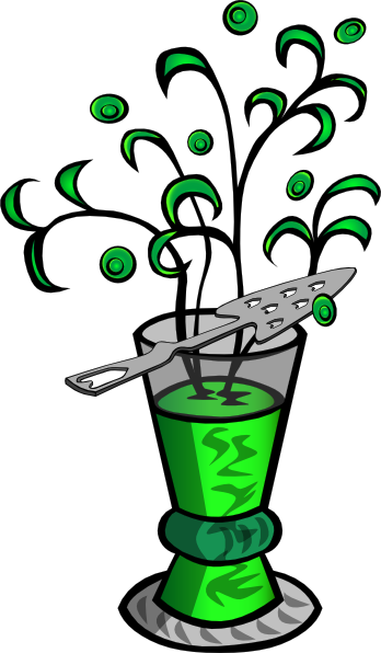Absinthe Drink clip art Free Vector / 4Vector.