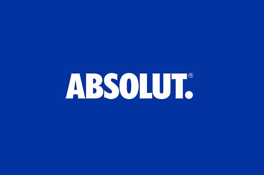 The Absolut Logo Comes of Age.
