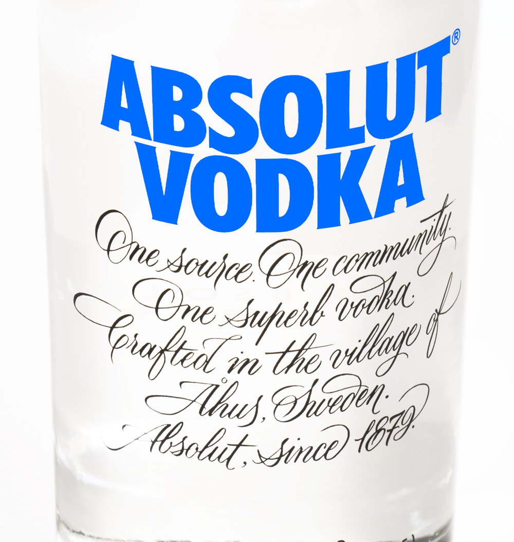Brand New: New Packaging for Absolut Vodka by The Brand Union.