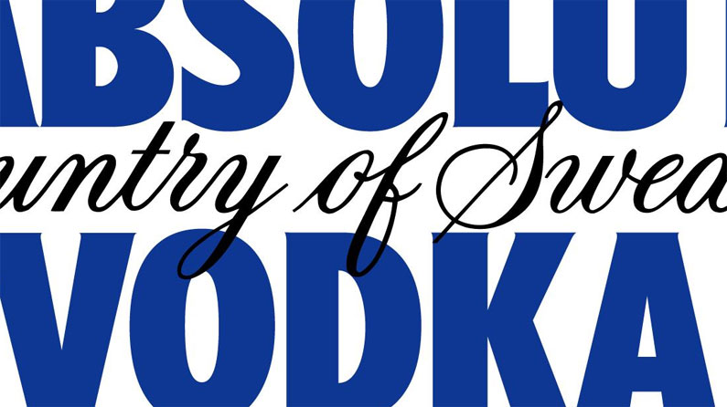 There\'s something missing from Absolut Vodka\'s new logo.