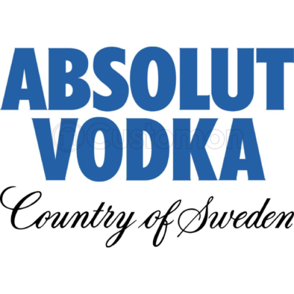 Absolut Vodka Logo Women's V.