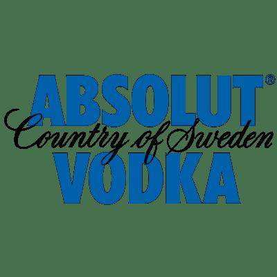 Absolut Vodka Logo transparent PNG.