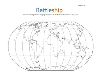 Geography: Battleship: Latitude & Longitude (Absolute.