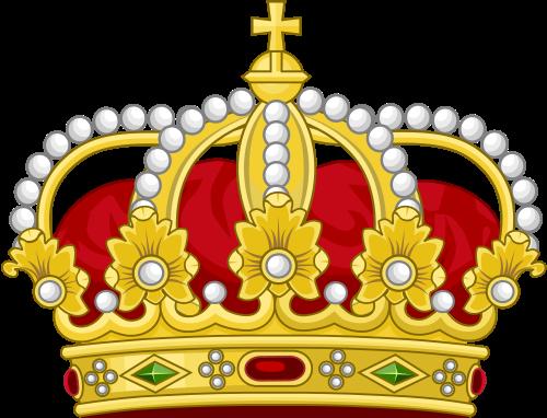 Monarchy Crown Clipart.