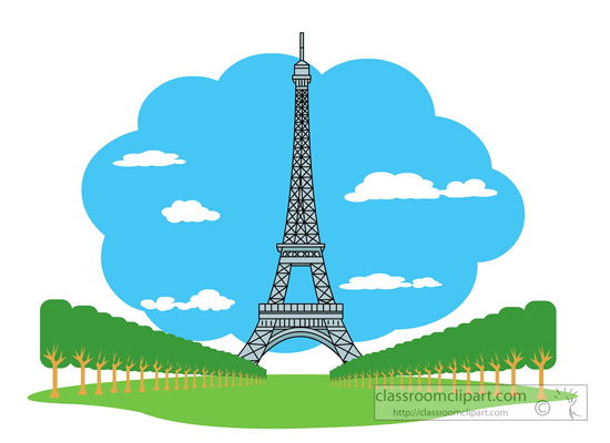 Paris France Clipart Clipground