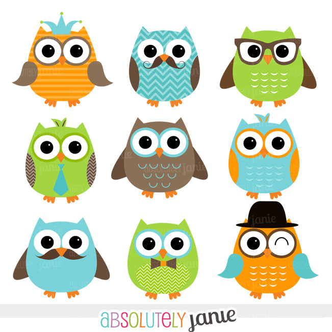Absolutely janie owl clipart Transparent pictures on F.