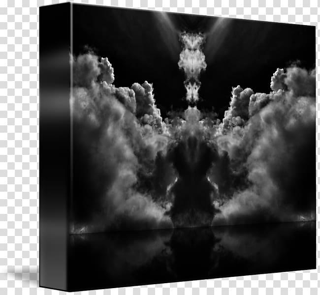 Still life Desktop , abstract cloud transparent background.
