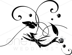 Abstract Leaves Clipart.