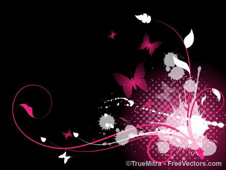 Abstract Flourish Splash Background Clipart Picture.