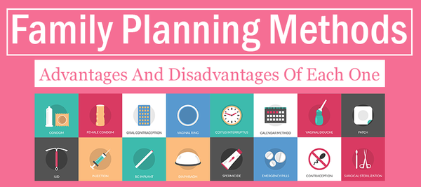 Family Planning Methods: Advantages & Disadvantages Of Each.