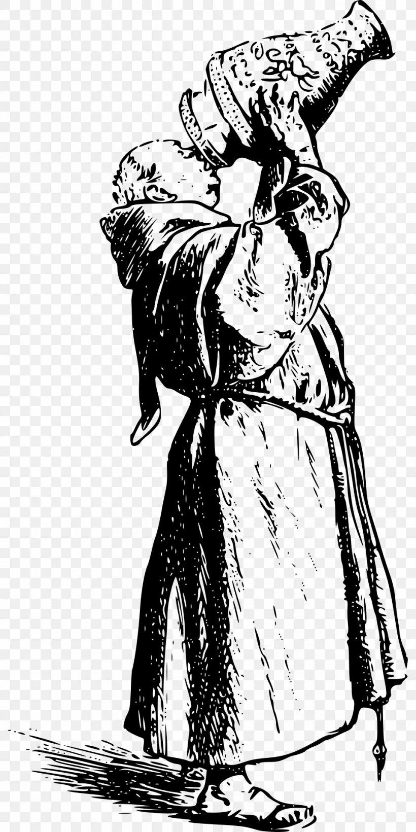 Asceticism Middle Ages Abstinence Monk Clip Art, PNG.