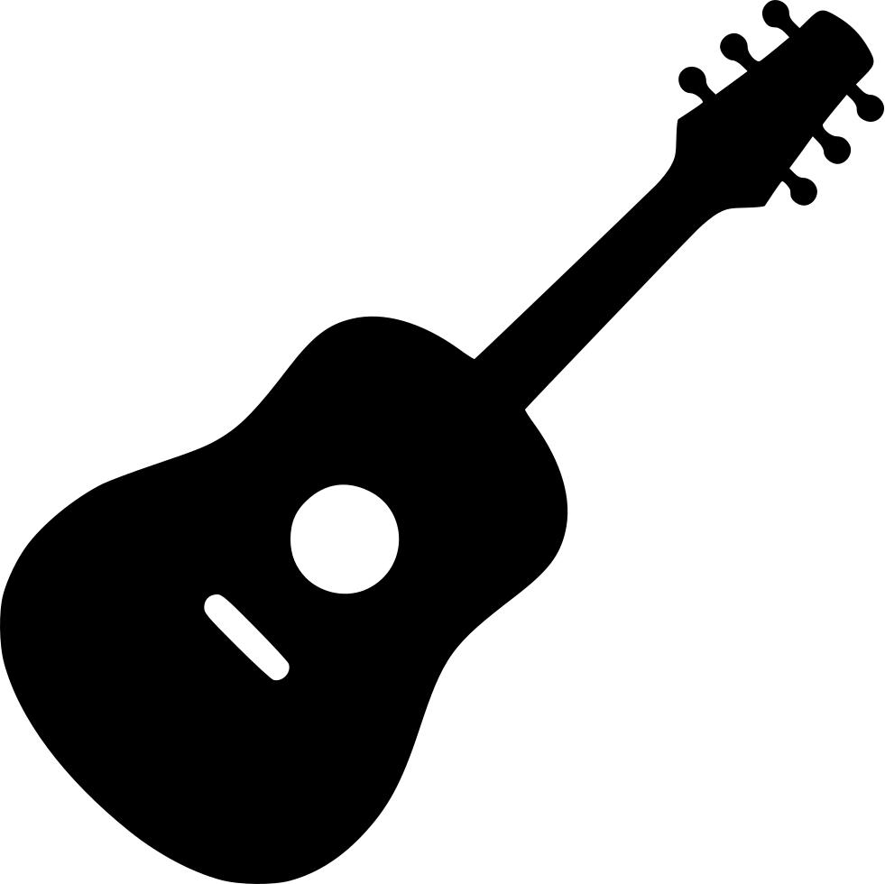 Acoustic Guitar Clipart Svg.