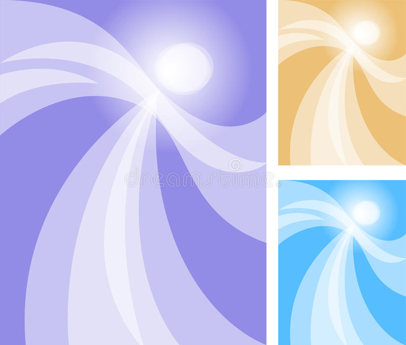 Abstract Angel Stock Illustrations.