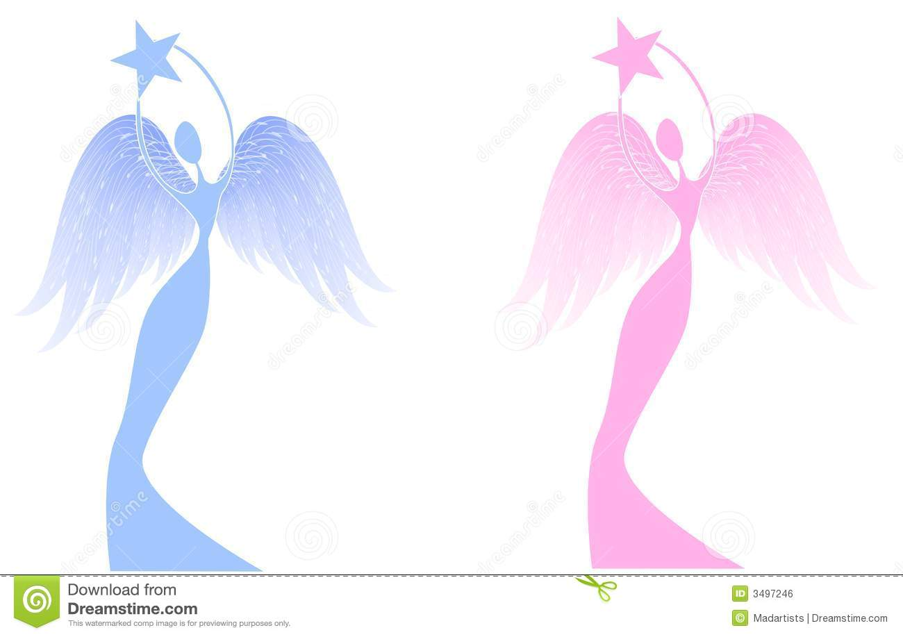 Make meme with Abstract Angel Clipart.