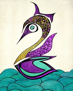 Abstract Animal Art Images.