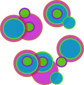 Abstract art clipart.