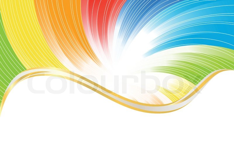 Vector abstract background in bright.