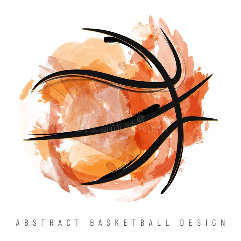 Abstract Basketball Stock Illustrations.