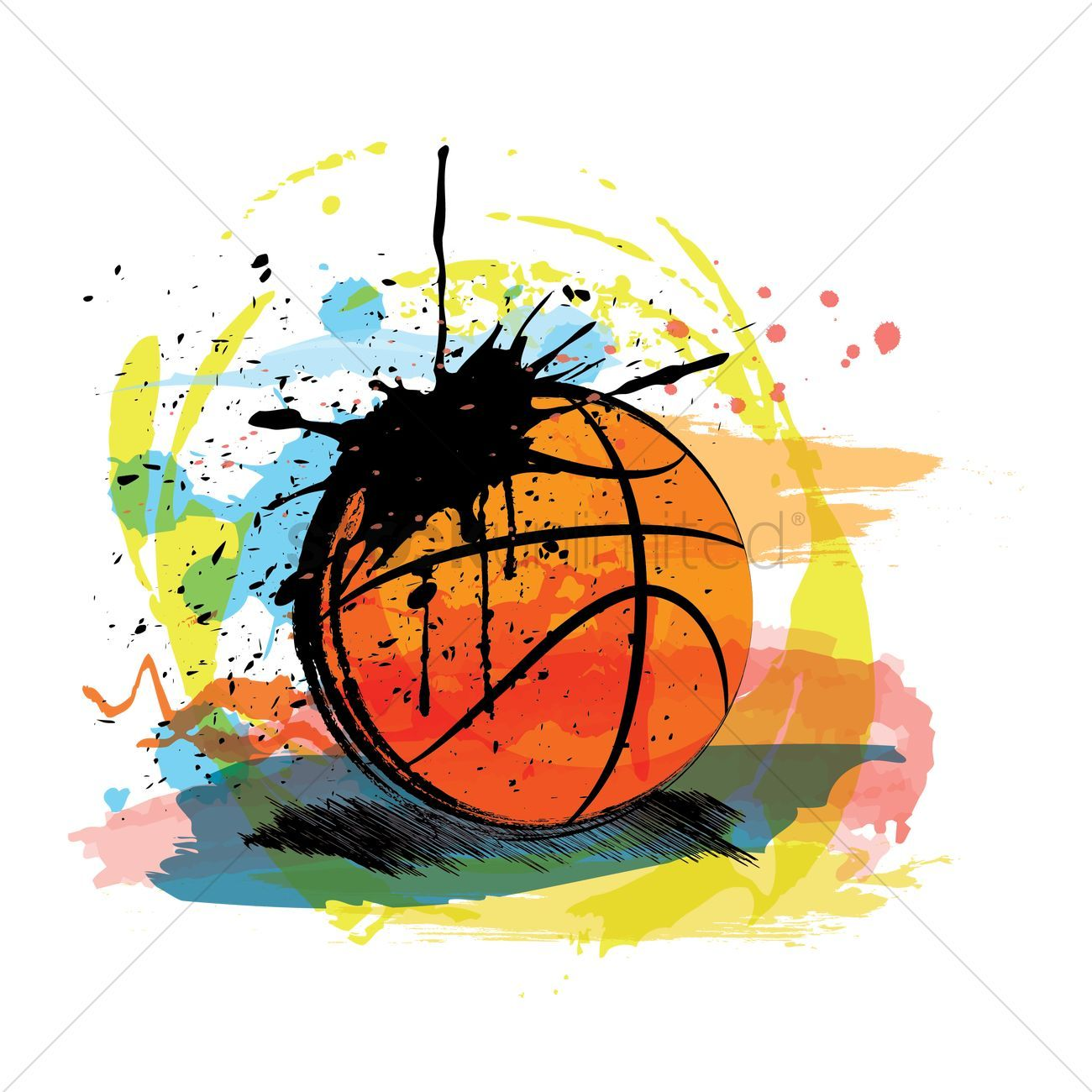 Abstract basketball clipart 3 » Clipart Portal.