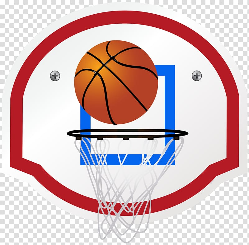 White and red basketball hoop , Backboard Basketball.