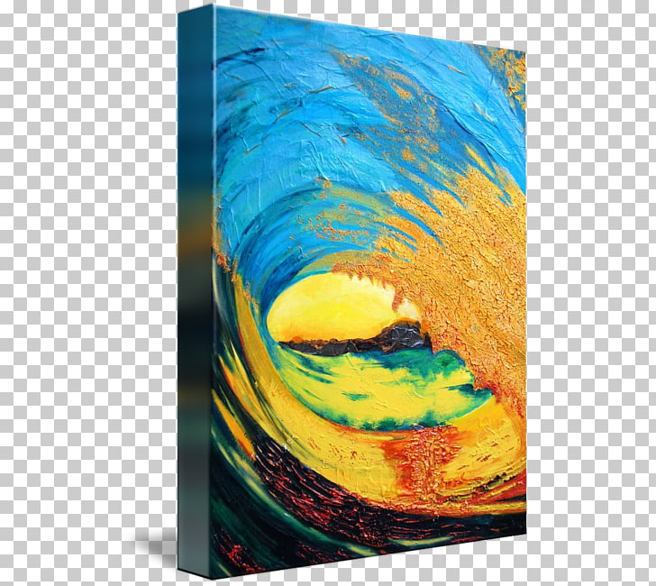 Huntington Beach Modern art Abstract art Painting.