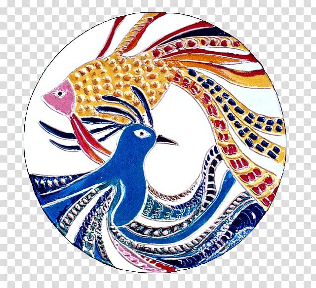 Ceramic Tile art Abstract art, abstract Bird transparent.