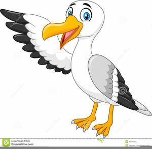 Abstract Bird Clipart.