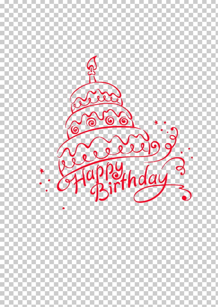 Birthday Cake Happy Birthday To You Greeting Card PNG.