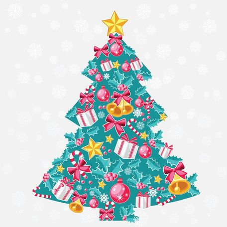 Free Abstract Christmas Tree Vector Art Clipart and Vector Graphics.