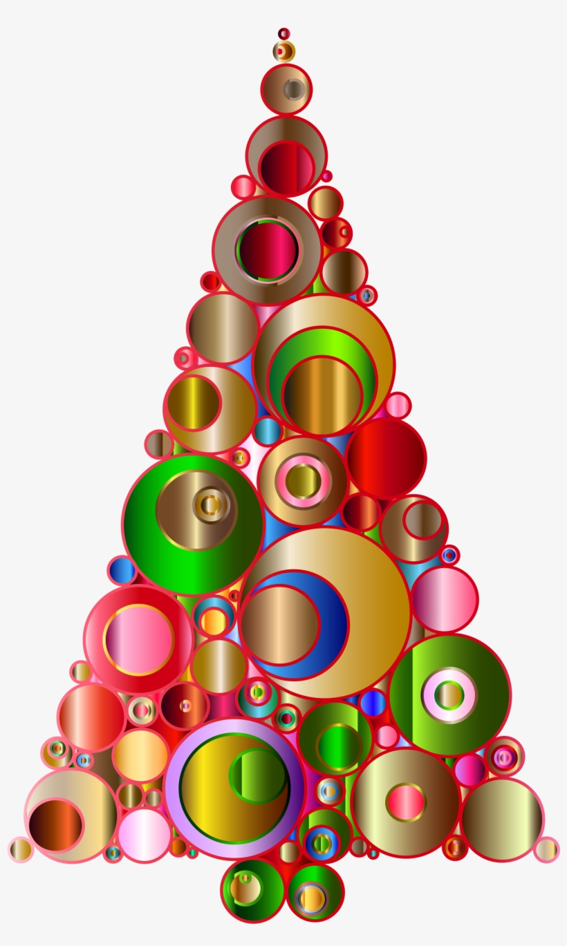 Abstract Christmas Tree Cliparts Msr.