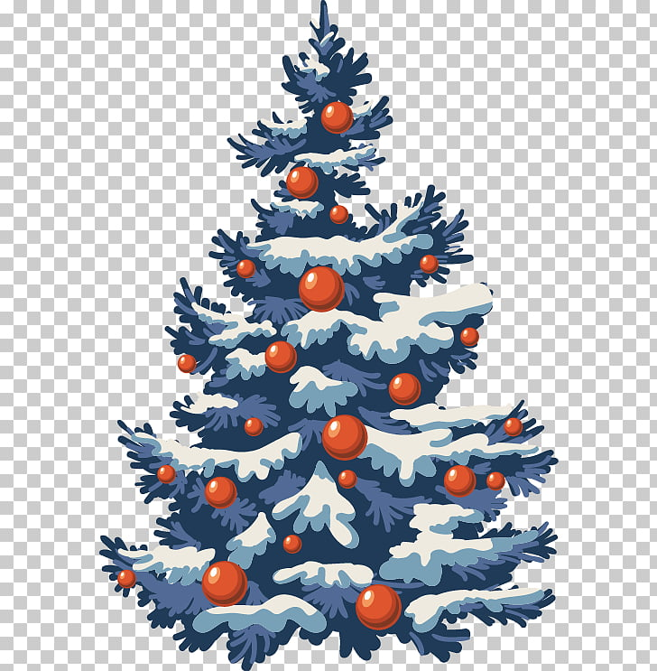 Christmas tree , Abstract pattern Christmas tree PNG clipart.