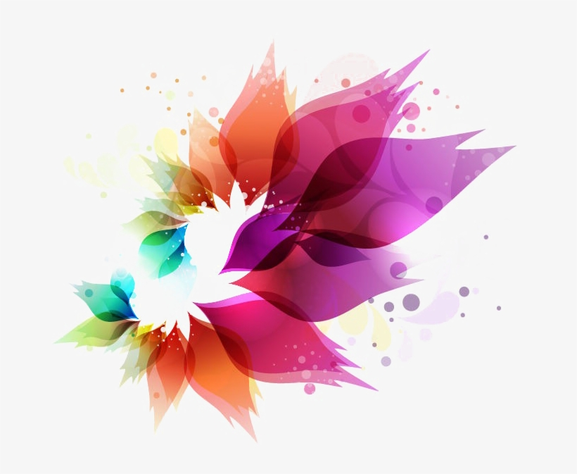 Abstract Colors Png Clipart.