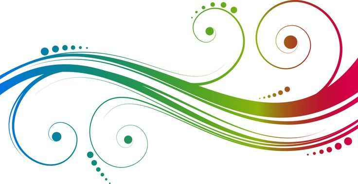 Abstract Swirls Clipart.